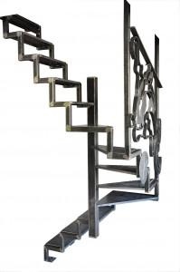 fond-blanc-escalier-metallique-acier-lege-en-tube-et-marches-en-tole-et-rampe-en-ferronnerie-199x300