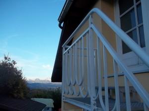 escalier metal marches caillebotis rampe ferronerie art deco palier