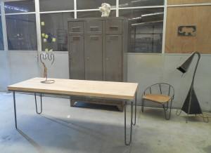 table bistrot mis en scène