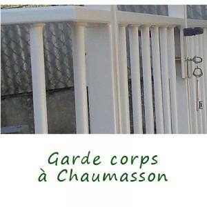garde corps a chaumasson